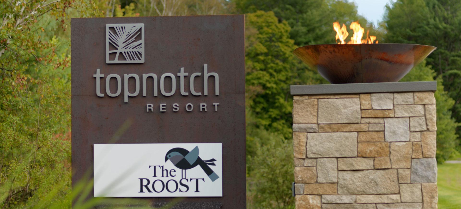Commercial Landscape Maintenance - Top Notch Resort
